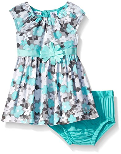 4cfd6962f01 Calvin Klein Baby-Girls Printed Chalet Dress with Panty