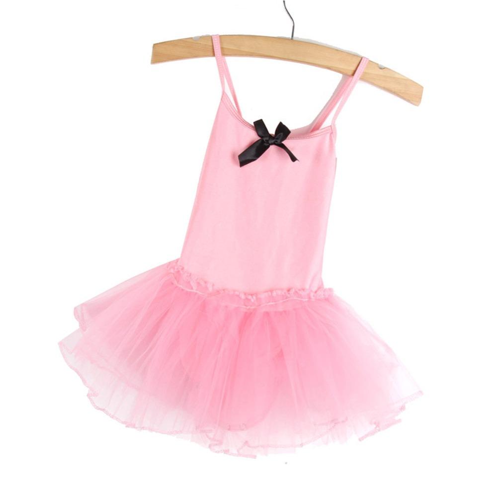 c4d0a152036d Girls Gymnastics Ballet Dress Toddler Kids Leotard Unitards Dancewear SZ  2-14