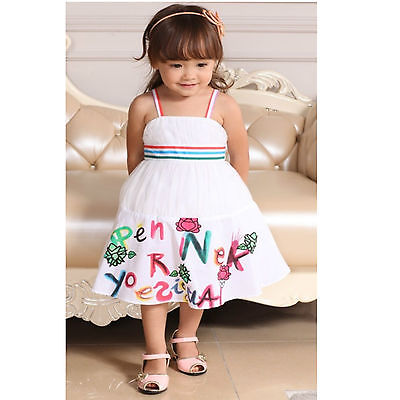 b24881f7624 baby girls dress lyocell Dress kids party dress s2 3 4 5 6  8622 Rose Kelly